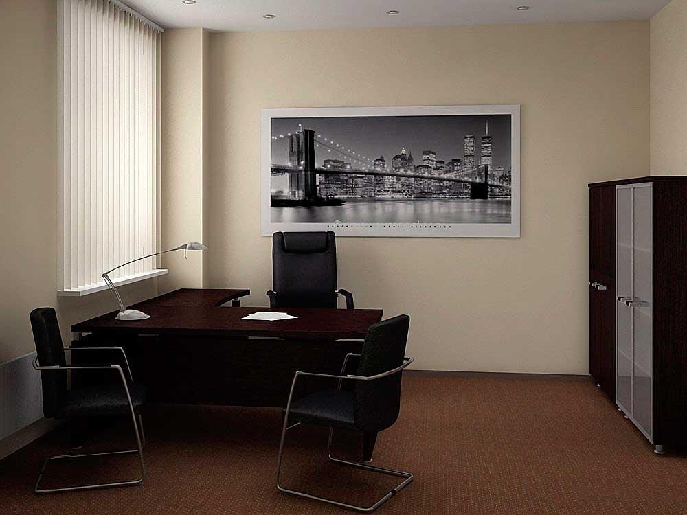 Дизайн офиса из квартиры